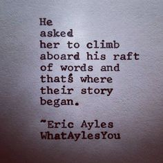 """Eric Ayles (@whataylesyou) on Instagram: """"A #raft of #words If you are enjoying my #poetry please share it with anyone you think will like…"""""""