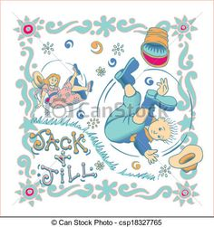 jack and jill vintage illustrations - Google Search