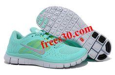 Womens Nike Free Run 3 Mint Green Shoes | Womens Nike Free Run 3 For Sale