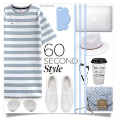 """Daily look"" by yourstylemood ❤ liked on Polyvore featuring Lacoste L!VE, Witchery, Furla, Sunny Rebel, STELLA McCARTNEY, Skullcandy, tshirtdresses and 60secondstyle"