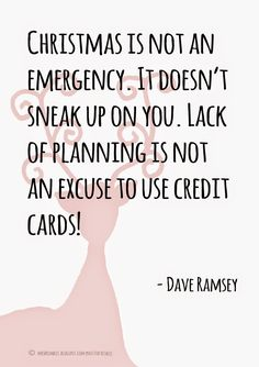 dave ramsey christmas planning quote free downloadable printable insert for a5 personal filofax
