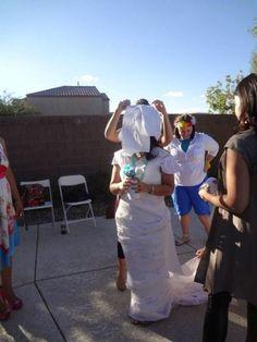 Bridal Shower/Couples Shower game idea using Cottonelle Triple Roll Toilet Paper! #CottonelleTarget #PMedia #ad