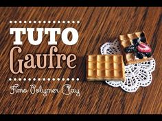 [TUTO FIMO] Gaufre Miniature Réaliste - Polymer clay miniature Waffle Tutorial - YouTube