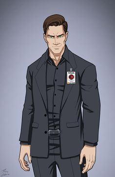 Maxwell Lord (Earth-27) commission by phil-cho.deviantart.com on @DeviantArt