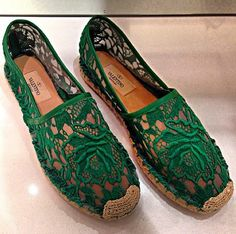 Valentino espadrilles These would look cute with http://shopmarkandestel.com/product-category/veronique-manga-bell/