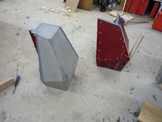 Concrete Casting Molds For Rectilinear Shapes - Cement Moulds That Come Apart For Multiple Use