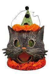 Bethany Lowe Designs Sassy Cat Bucket