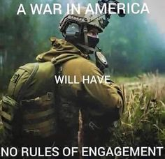 We the people are armed and will fight side by side with our military Military Quotes, Military Humor, Military Life, Usmc Quotes, Way Of Life, The Life, Rules Of Engagement, Warrior Quotes, Badass Quotes