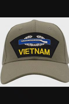 Shop Combat Infantryman Badge - Vietnam Hat/Ballcap Adjustable One Size Fits Most - Tan/Khaki now save up 50% off, free shipping worldwide and free gift, Support wholesale quotation! Vietnam, Cool Baseball Caps, Dad Hats, Quotation, Unisex, Free Shipping, Fitness, Gift, Stuff To Buy
