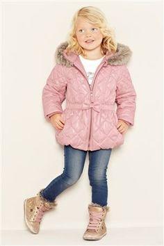 Pistachio Black Leopard Heart Puffer Coat - Girls | Coats, Zulily ...