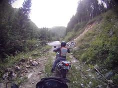 BMW F650 & Honda Transalp Drivetest on Transalpina Road