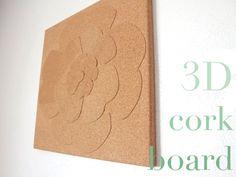 3D Cork Board Tutorial!