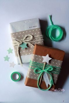 (A través de CASA REINAL) >>>>>  Simple gift wrapping ideas