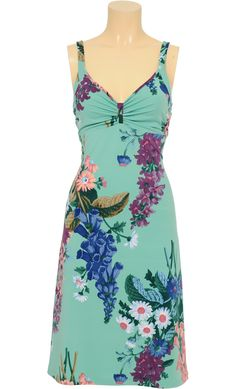 Got myself today a gorgeous dress from King Louie by exota: Drape Spag Dress Veronica. I just adore flowerprint and this one is so beautiful and comfortable!!!!