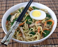 25 Asian Recipes That Are Better Than Takeout Vegetarian Recipes, Cooking Recipes, Healthy Recipes, Healthy Foods, Easy Homemade Soups, Hard Boiled Egg Recipes, How To Make Ramen, Asian Recipes, Ethnic Recipes