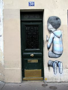 Street art Paris - Seth