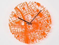 Aminimal studio's Urban Gridded Clock