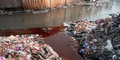 Clothing manufacturing is polluting rivers worldwide! See http://www.ecowatch.com/fast-fashion-riverblue-2318389169.html