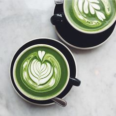 Matcha latte #goals  tag a friend you'd like to share one of these beauties with.  by the very talented @youngxable  by westendmatcha
