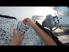 COMO FORRAR ENCAJE + BASE 1 - YouTube Sewing Tutorials, Sewing Projects, Couture, Sewing Clothes, Pattern Paper, Diy Fashion, Stitch, Tips, Base