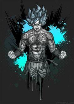 Goku's Tattoos by Bomu