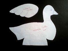Eu costuro , você costura: PAP de Pato Tilda