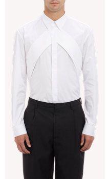 Givenchy Piqué Band Shirt