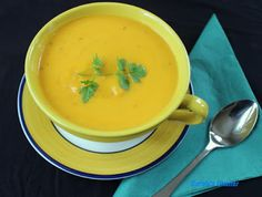 Carole's Chatter: Roasted Pumpkin Soup Oregano Chicken, Roast Pumpkin Soup, Garlic Oil, Chilli Flakes, Fresh Ginger, Quotations, Carrots, Curry, Stuffed Peppers