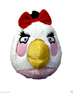 Angry Birds 5 inch White Girl Plush with Sound  - Officially Licensed -  3+ - Re-list April 14, 2014 - #FreeShipping #$10.99