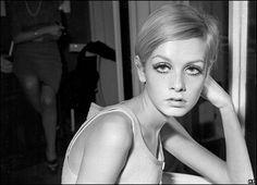 "Twiggy, the original 1960s ""it"" girl"