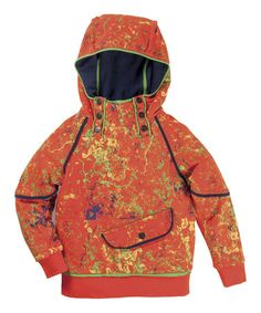 Look what I found on #zulily! Orange Color Storm 'Rebel' Organic Hoodie - Toddler & Boys by Vicious Wear #zulilyfinds