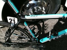 Cycling: Andy Schleck's bike ©2011 Middle Aged Ski Bum