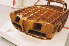 Body panel form for classic Alfa Romeo #automobiles #classic