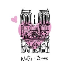 On April Paris' iconic Notre-Dame Cathedral was devastated by a fire. To pay tribute to the church, artists have created inspiring Notre-Dame art. Illustrated Map, Paris Photos, Sketch Book, Art Store, Love Photos, Pray For Paris, Printing On Fabric, Art Journal, Paris Art