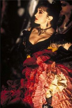Nini Legs In The Air (Diamond Dogs) in Moulin Rouge.  Played by Caroline O'Conner.