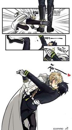 Mika kiss Yuu
