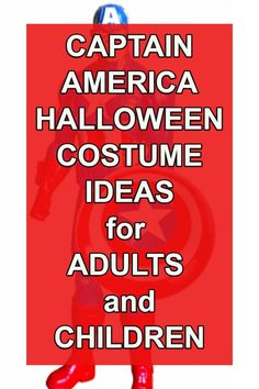 Captain America Civil War Halloween Costume Ides for Children and Adults. Captain America Halloween Costume, Hot Halloween Costumes, Cheap Halloween, Baby Halloween, Halloween Stuff, Halloween Teacher Gifts, Halloween Gift Baskets, Captain America Civil War, Vintage Circus Party