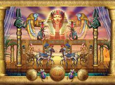 Egyptian Digital Art  - Egyptian Fine Art Print