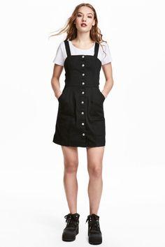 Denim dress - Black - Ladies | H&M GB 1