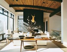 MOUNTAIN DREAM- Aerin Lauder in Aspen | Mark D. Sikes: Chic People, Glamorous Places, Stylish Things