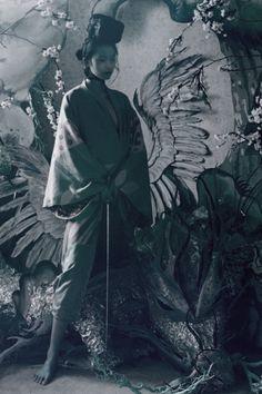 pivoslyakova:  Xiao Wen Ju by Tim Walker for W Magazine March 2012.