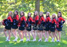 Senior cheerleaders! Senior pic idea :)