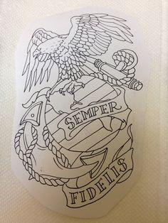 USMC Print