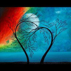 Original Tree Painting by Jaime Best - Promise via Etsy.