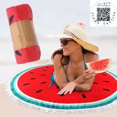Nouveau microfibre fdy rond plage towel 150 cm serviettes de bain avec gland imprimé d'été femmes sandy de natation bain de soleil couverture couvre
