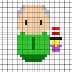 Mr Garrison - South Park Perler Bead Pattern