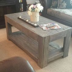 DIY Wood #Pallet Coffee #Table | 101 Pallet Ideas