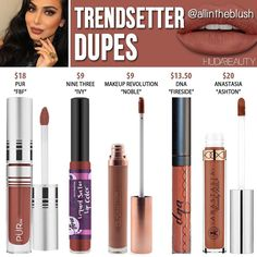 """""""Mi piace"""": 1,254, commenti: 8 - All in the Blush (@allintheblush) su Instagram: """"THE MOST REQUESTED SHADE.....#TRENDSETTER DUPES Please continue to leave me your Huda Beauty…"""""""