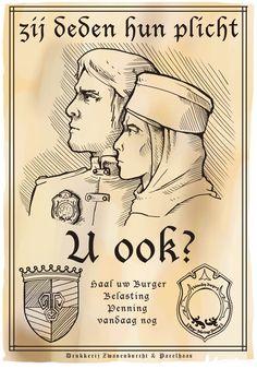 Propaganda poster larp, Quon