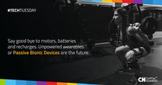 Unpowered or passive bionic devices offer a tantalizing alternative to costlier powered braces and exoskeletons! Read more: http://bit.ly/bionic-device